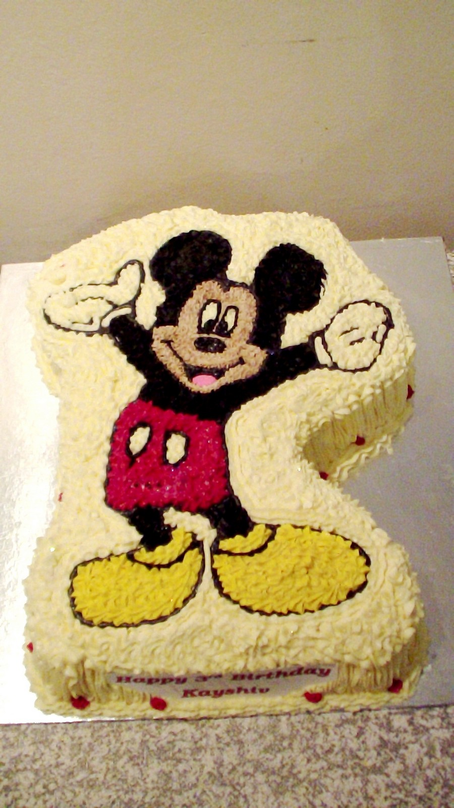 Design A Cake - Mickey & Minnie
